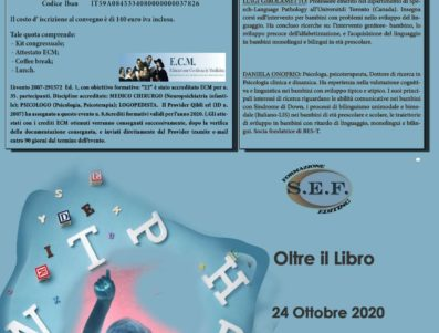 OLTRE IL LIBRO    RECUPERO CORSO DEL 2 MAGGIO 2020