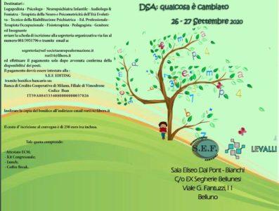 DSA: qualcosa è cambiato     RECUPERO CORSO DEL 4/5 APRILE 2020