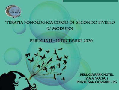TERAPIA FONOLOGICA CORSO DI SECONDO LIVELLO                                                                                                                                   RIMANDATO IN DATA 28-29 MAGGIO 2021