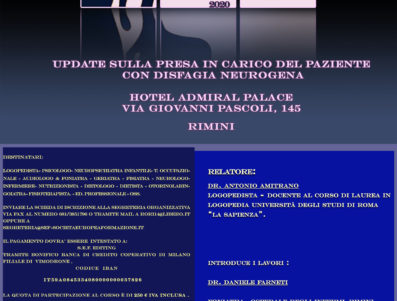 UPDATE SULLA PRESA IN CARICO DEL PAZIENTE CON DISFAGIA NEUROGENA