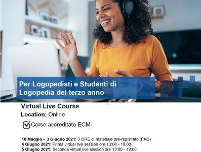 PREREQUISITO-Virtual Live LSVT LOUD Training and Certification Course                                                                                                                                                                                                                 ( FAD                                                                                                                                 CHE                                                                                                                                                                                  PRECEDE    IL          WEBINAR   DEL    4 e 5     GIUGNO      2021)